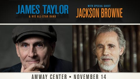 James Taylor w/Jackson Browne
