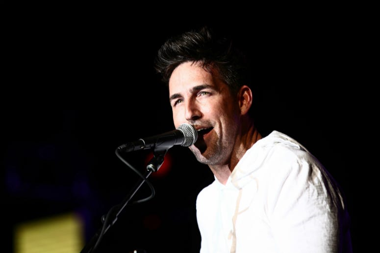Jake Owen performs onstage at ACM: Stories, Songs & Stars: A Songwriter's Event