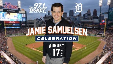 Jamie Samuelsen Night at Comerica Park