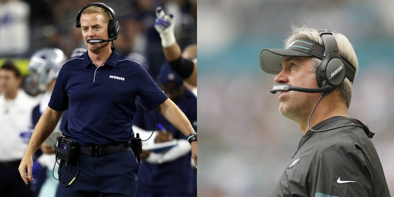 Jason Garrett and Doug Pederson's teams have underachieved in 2019.
