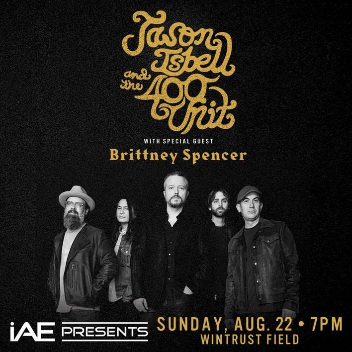 Jason Isbell & The 400 Unit with Special Guest Brittney Spencer
