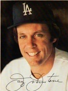 Jay Johnstone baseball card