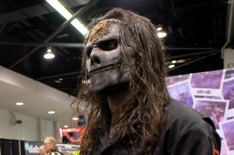 Jay Weinberg of Slipknot during the 2019 NAMM Show at the Anaheim Convention Center