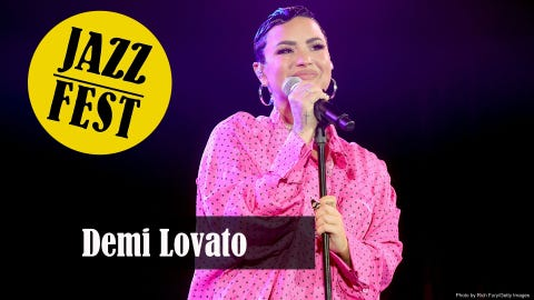 Jazz Fest: Demi Lovato, Dead and Company