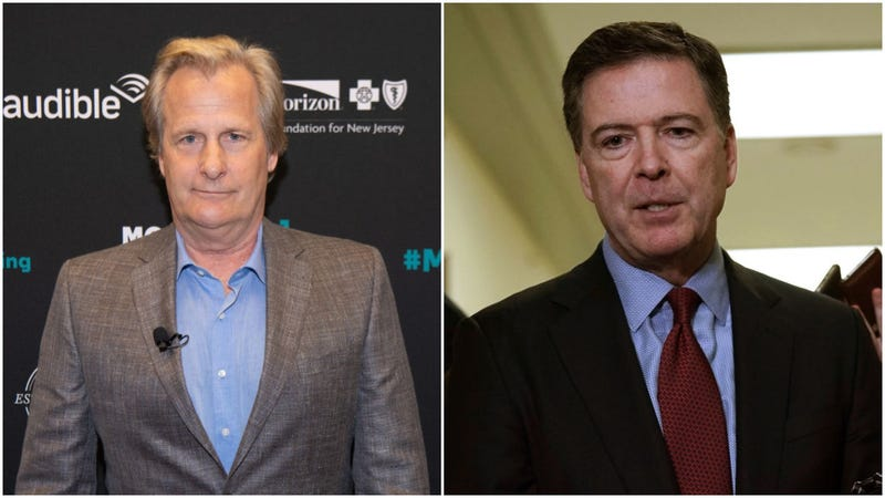 Jeff Daniels, James Comey