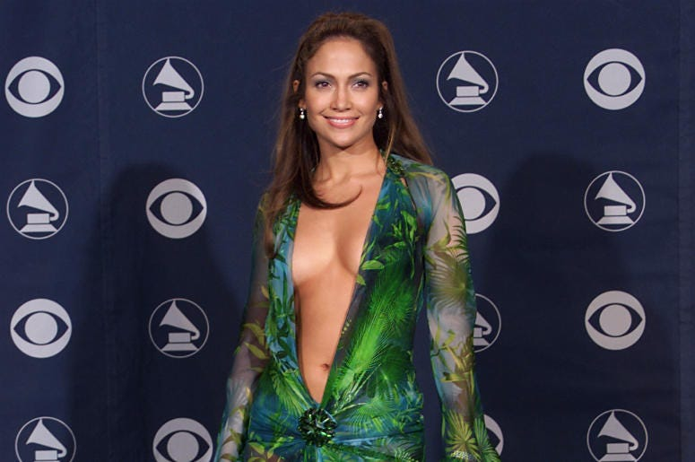 Jennifer Lopez in 2000