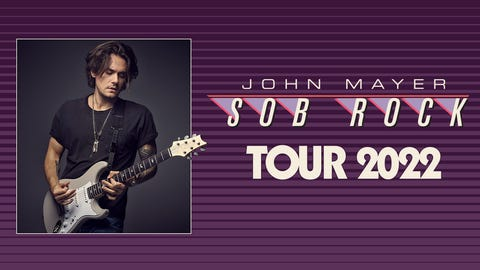 John Mayer Sob Rock Tour