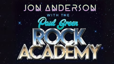 Jon Anderson of Yes with The Paul Green Rock Academy