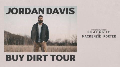 Jordan Davis - Buy Dirt Tour