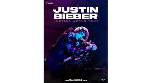 JUSTIN BIEBER-J<em>USTICE WORLD TOUR 2022</em>