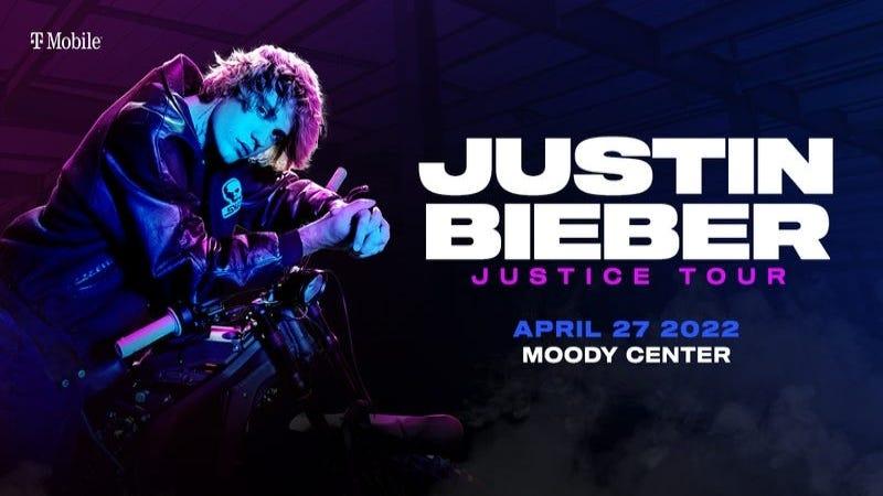 Justine Bieber promotional art