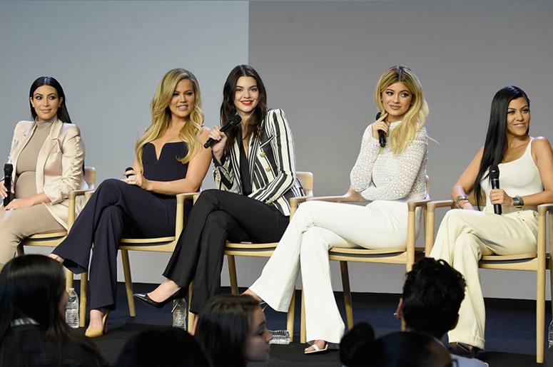 Kim Kardashian-West, Khloe Kardashian, Kendall Jenner, Kylie Jenner and Kourtney Kardashian