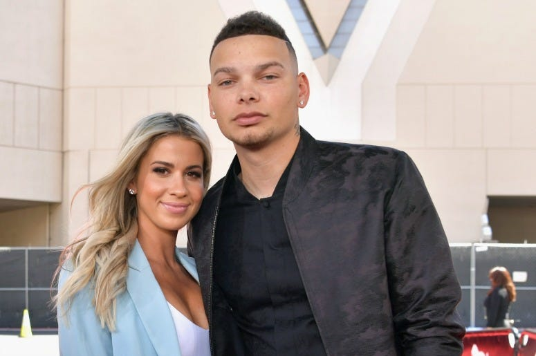 Katelyn Jae and Kane Brown attend the 2019 Billboard Music Awards