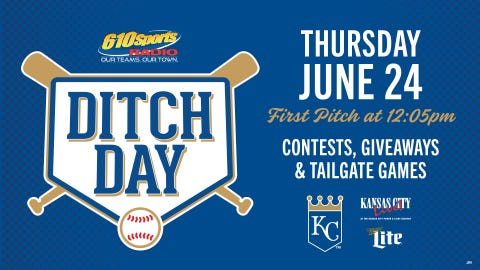 Work from KC Live! on June 24th in honor of KC Ditch Day!