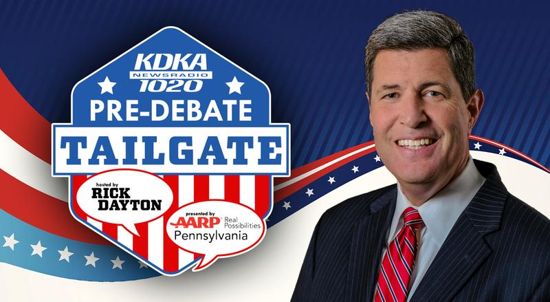 KDKA Radio Pre-debate Tailgate