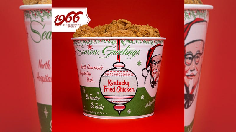 KFC reveals its limited-edition holiday buckets for 2020