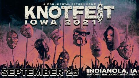 Knotfest Iowa 2021