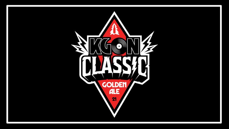 KGON Classic Beer Logo