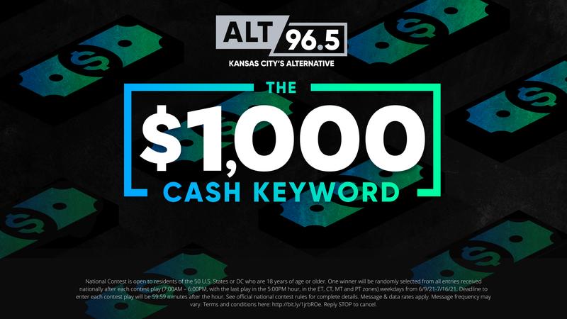 The $1000 Cash Keyword on ALT 965