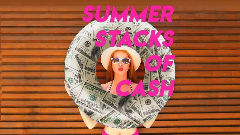 Summer Stacks of Cash on 105.1 The Buzz