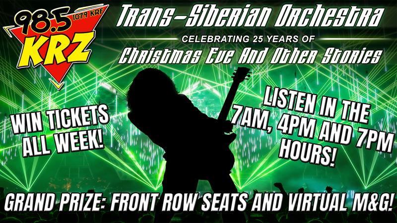 Win Trans-Siberian Orchestra Tickets
