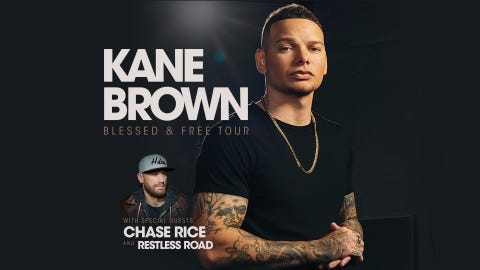 Kane Brown - Blessed & Free Tour