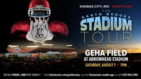 The Garth Brooks Stadium Tour