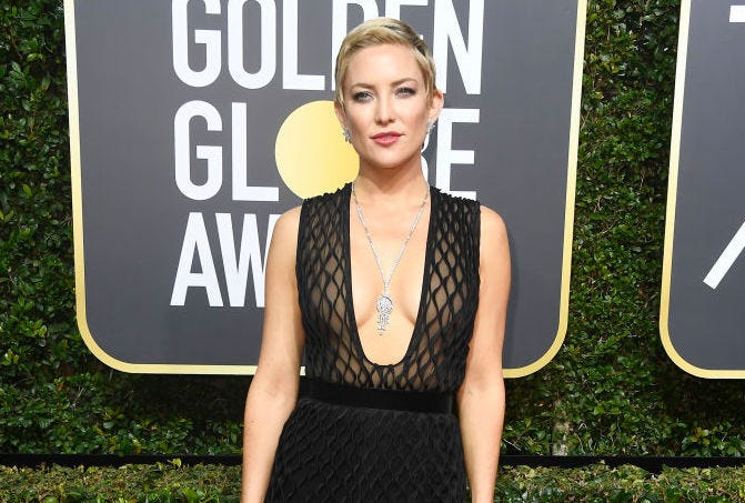 Kate Hudson at the Golden Globes