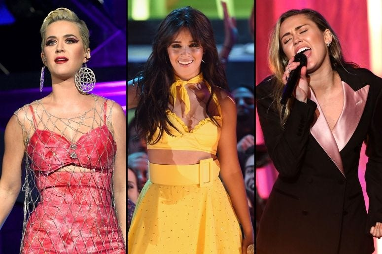 Katy Perry x Camila Cabello x Miley Cyrus