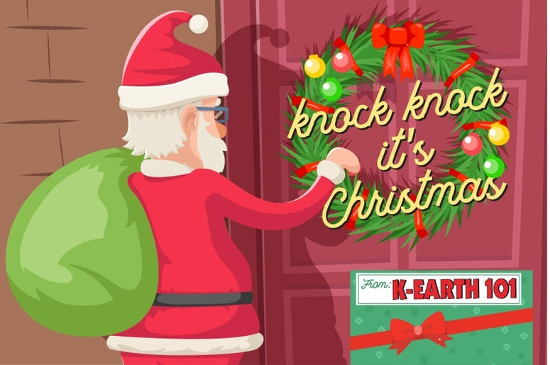 Knock Knock It's Christmas