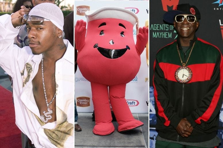 A dream collaboration between Sisqo, Kool-Aid, and Flavor Flav is here.
