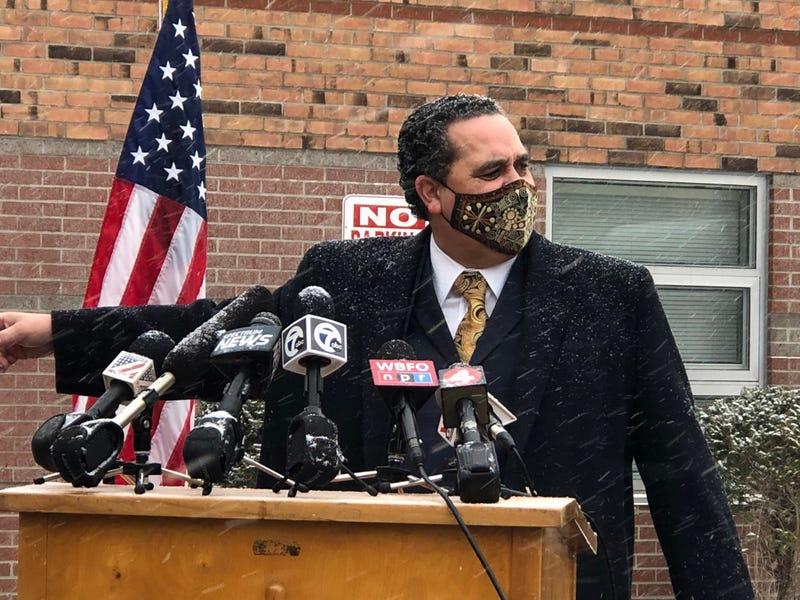 Superintendent Kriner Cash. February 1, 2021