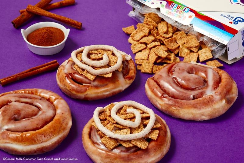Krispy Kreme Cinnamon Toast Crunch