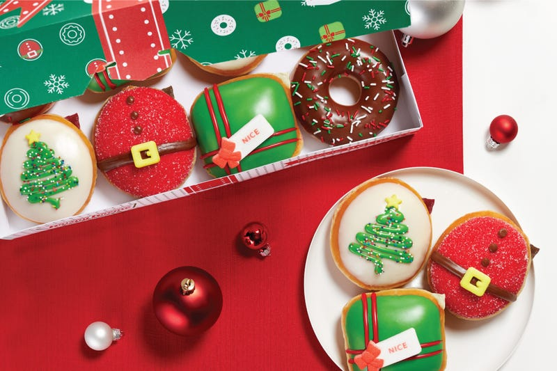 The Nicest Holiday Collection from Krispy Kreme