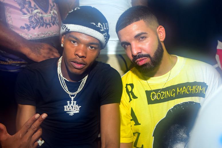 Lil Baby and Drake