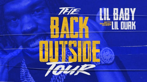 Lil Baby - The Back Outside Tour