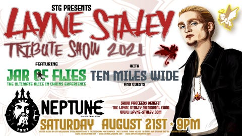 Layne Staley Tribute 2021 at Neptune Theatre