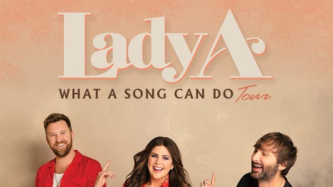 """Lady A's """"What A Song Can Do"""" Tour"""