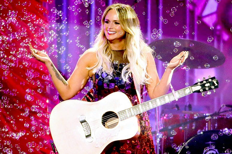Miranda Lambert performs onstage during the 53rd annual CMA Awards