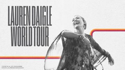 Lauren Daigle World Tour at Scope Arena