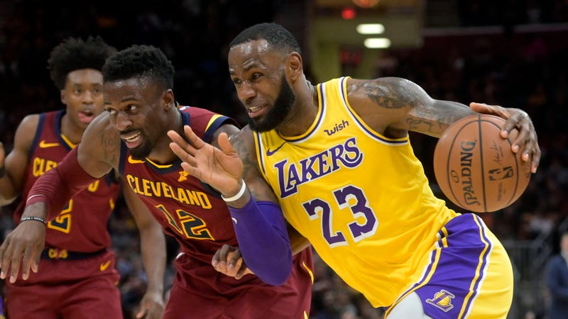 new style 26fce 193b2 Cleveland Cavaliers Enjoying Struggles of LeBron James' Los ...