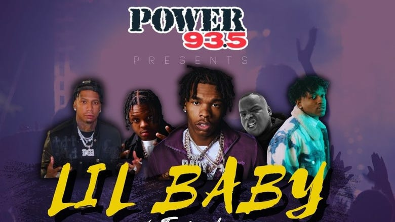 Power 93.5 presents LIL BABY AND FRIENDS