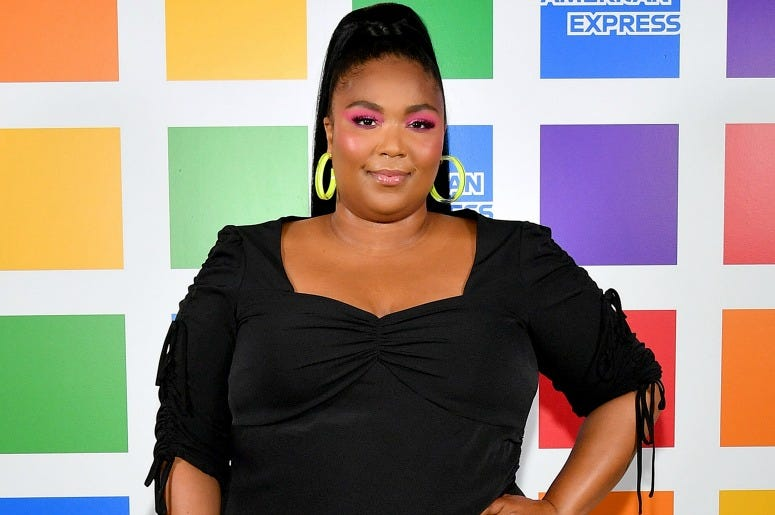 Lizzo attends American Express' NYC Pride Kickoff Event on June 26, 2019