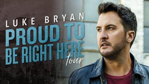 Luke Bryan- Proud to Be Here Tour