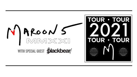 Maroon 5 at White River Amphitheatre - NEW DATE
