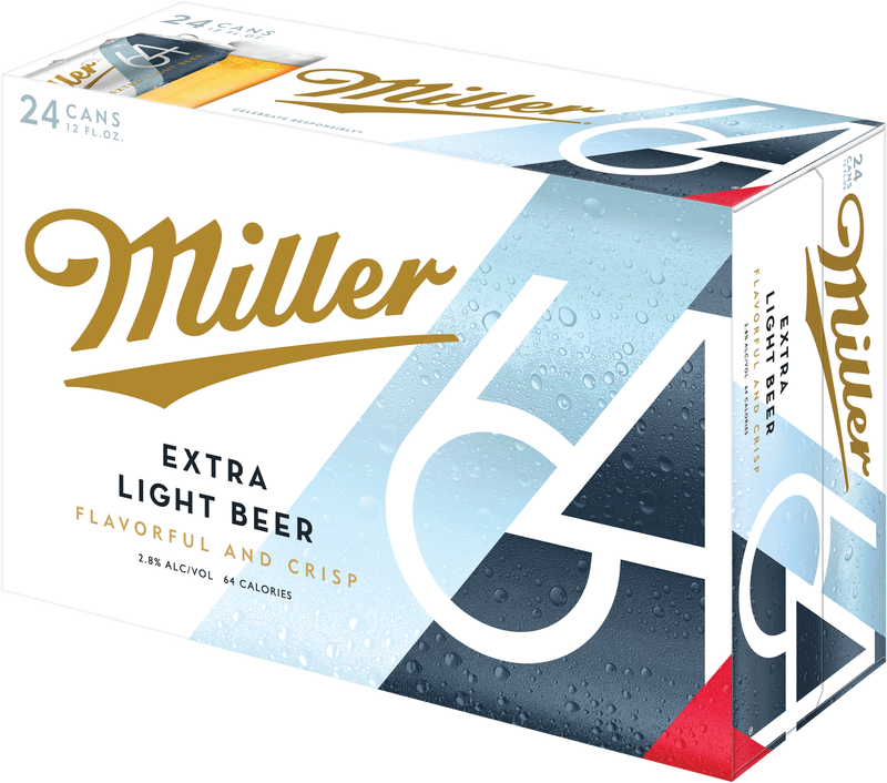 Miller64 Extra Light Beer
