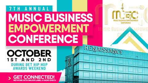 Top Music Industry Professionals Convene in Atlanta To Share, Discover & Celebrate Black Music, happening during the BET Hip Hop awards weekend.