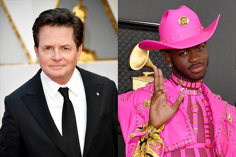 Michael J. Fox and Lil Nas X