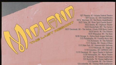 """MIDLAND """"Last Resort Tour"""""""