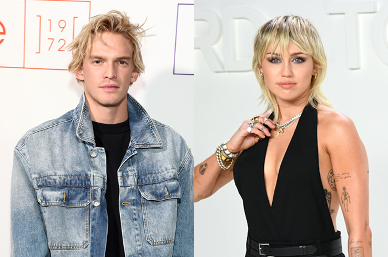 Miley Cyrus and Cody Simpson Show Off  Dance Routine
